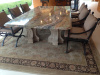 """Fascination Quartzite"" custom made dinning table"