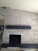 """Indiana Buff"" Limestone fireplace"